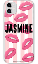 Load image into Gallery viewer, Personalised Hot Lips iPhone 11 Case - customxcreations