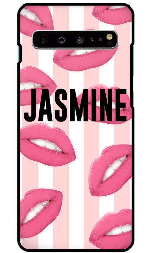 Hot Lips Samsung S10 Plus Case-customxcreations