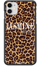 Load image into Gallery viewer, Personalised Leopard Print iPhone 11 Case-customxcreations