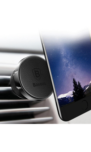 Magnetic Car Phone Holder - Black - customxcreations