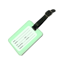 Load image into Gallery viewer, Personalised Pastel Green Luggage Tag-customxcreations