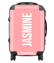 Load image into Gallery viewer, Personalised Peach Pastel Suitcase-customxcreations