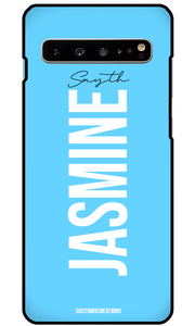 Pastel Blue Samsung Galaxy S10 Case-customxcreations