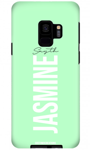 Pastel Green Samsung Galaxy S8 Case - customxcreations