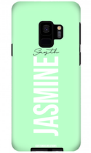 Load image into Gallery viewer, Pastel Green Samsung Galaxy S9 Case - customxcreations