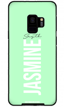 Load image into Gallery viewer, Pastel Green Samsung Galaxy S8 Plus Case-customxcreations