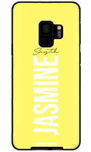 Pastel Yellow Samsung Galaxy S9 Plus Case-customxcreations