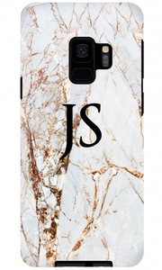 Premium Gold Cracked Marble Samsung S8 Case - customxcreations