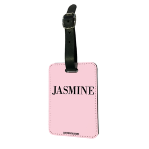 Personalised Perfect Pink Luggage Tag-customxcreations