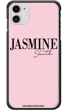 Load image into Gallery viewer, Personalised Perfect Pink Design iPhone 11 Pro Max Case-customxcreations