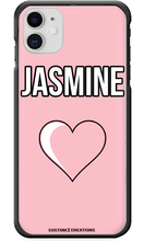 Load image into Gallery viewer, Personalised Pink Love iPhone 11 Case-customxcreations