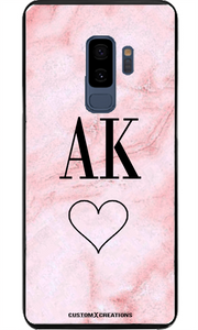 Pink Marble Samsung S8 Case-customxcreations