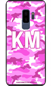 Ultra Pink Camo Samsung S9 Case-customxcreations