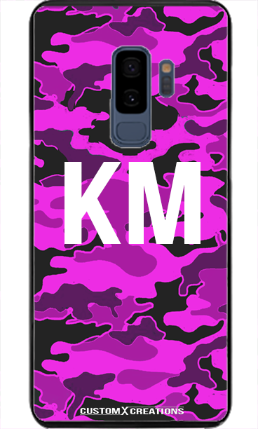 Violet Camo Samsung S8 Case-customxcreations