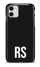 Load image into Gallery viewer, Personalised SOLID Series - Black iPhone Case-customxcreations