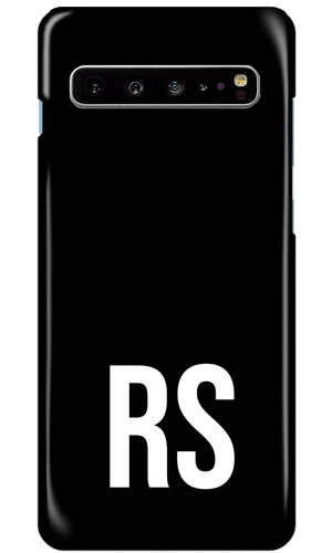 Personalised SOLID Series - Black Samsung Case-customxcreations