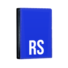 Load image into Gallery viewer, Personalised SOLID Series - Blue Passport Cover-customxcreations