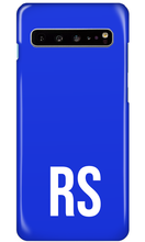 Load image into Gallery viewer, Personalised SOLID Series - Blue Samsung Case-customxcreations