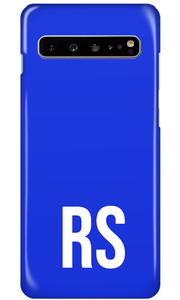 Personalised SOLID Series - Blue Samsung Case-customxcreations