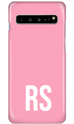 Personalised SOLID Series - Pink Samsung Case-customxcreations