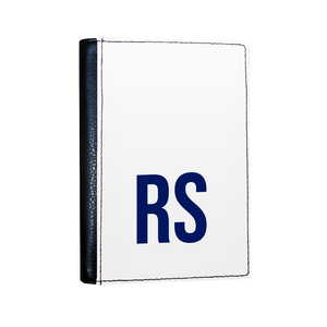 Personalised SOLID Series - White Passport Cover-customxcreations
