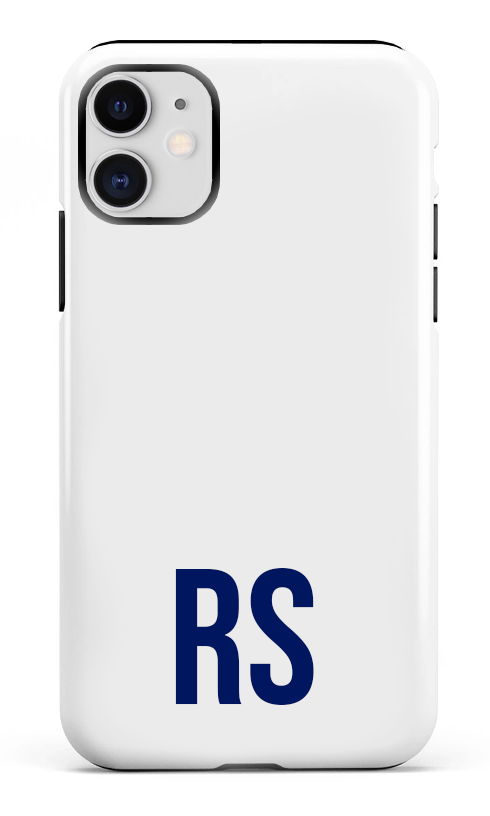 Personalised SOLID Series - White iPhone Case