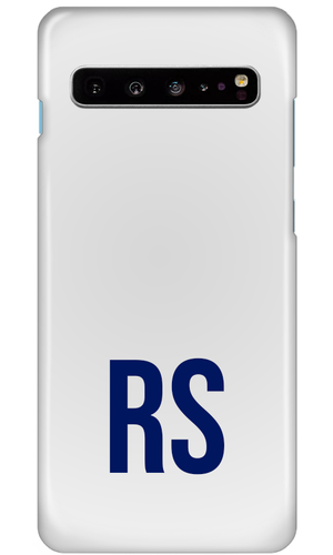 Personalised SOLID Series - White Samsung Case-customxcreations