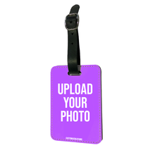 Load image into Gallery viewer, Upload Your Photo Luggage Tag