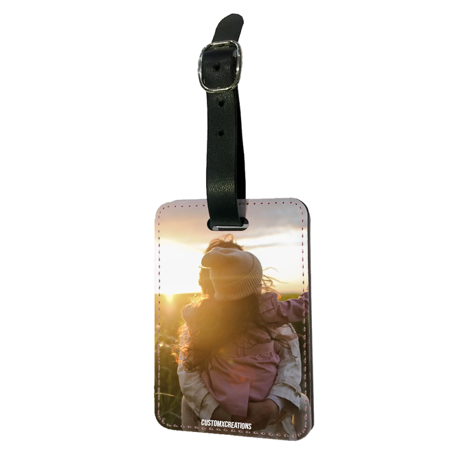 Upload Your Photo Luggage Tag