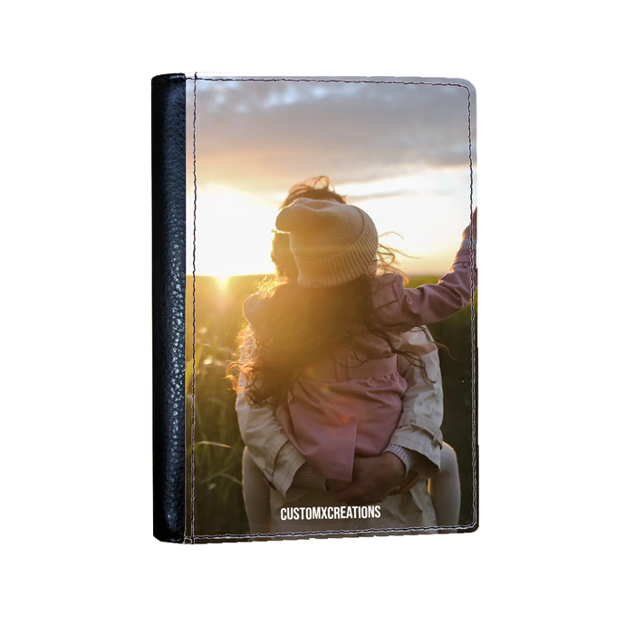 Upload Your Photo Passport Cover-customxcreations