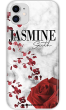 Load image into Gallery viewer, Personalised Valentine Marble iPhone 11 Case - customxcreations