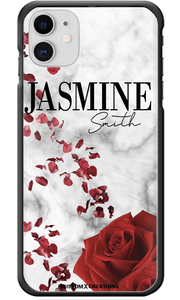 Personalised Valentine Marble iPhone 11 Case-customxcreations