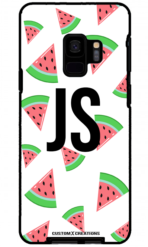 Tropical Watermelon White Samsung Galaxy S9 Plus Case-customxcreations