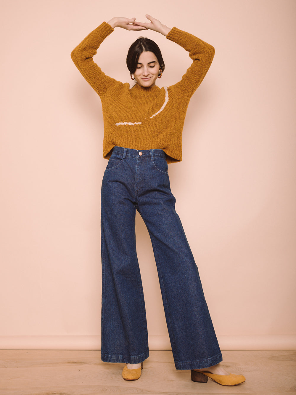 Nellie Wide Leg Jeans