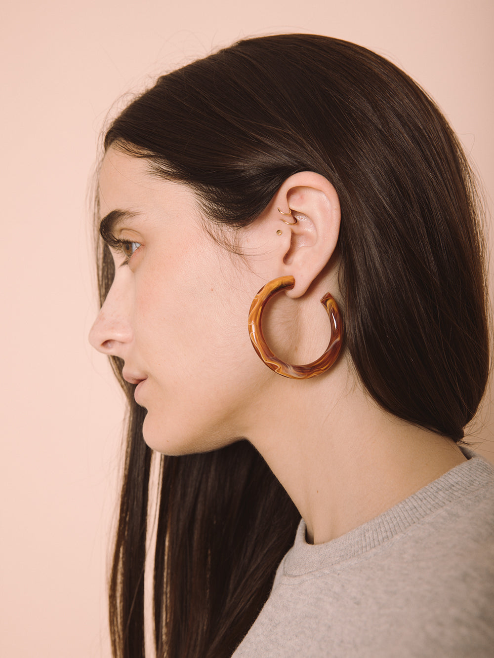 Olympics Hoop Earrings