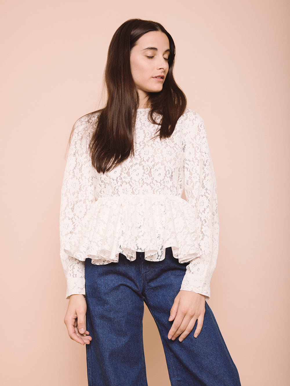 Pierrot Lace Top
