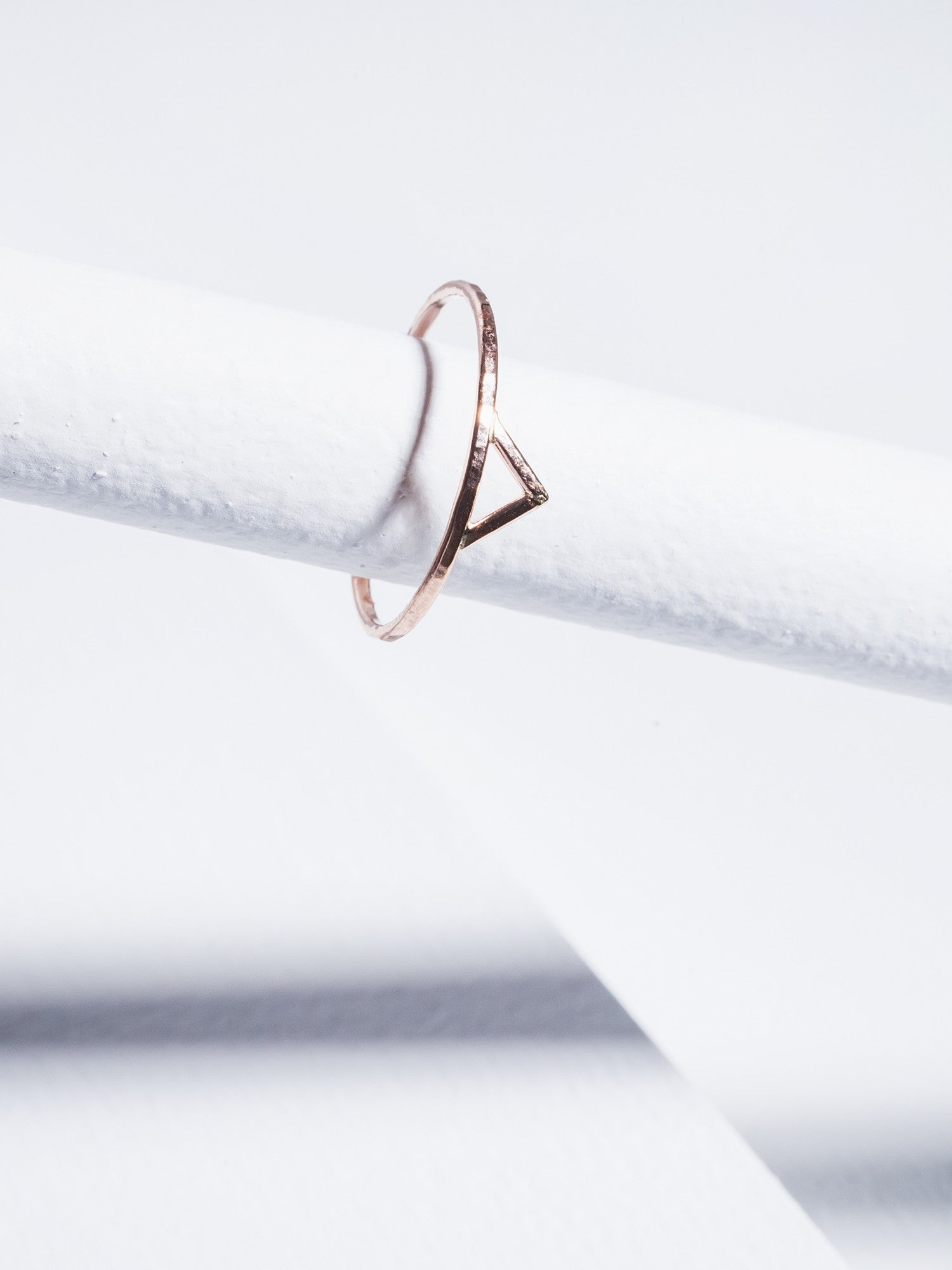 Stefanie Sheehan Spike Ring Rose Gold