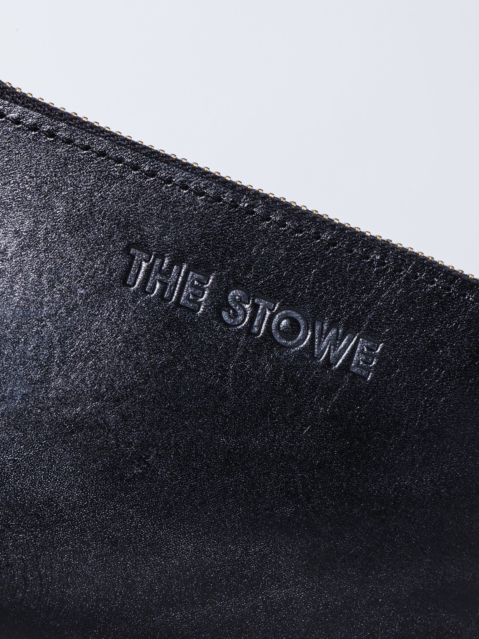 The Stowe Zip Wallet Close Up