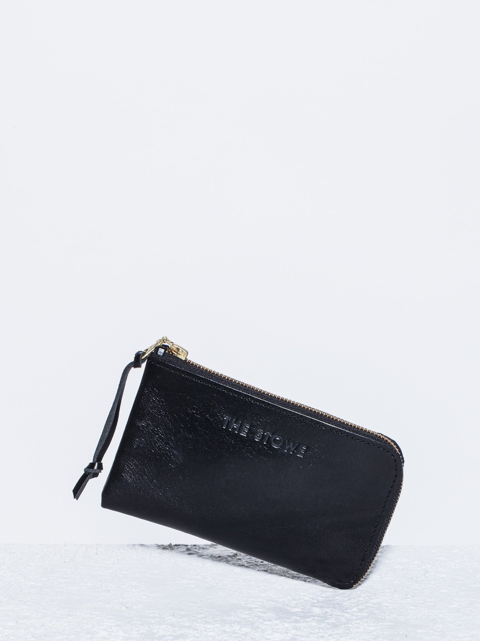 The Stowe Zip Wallet Leather