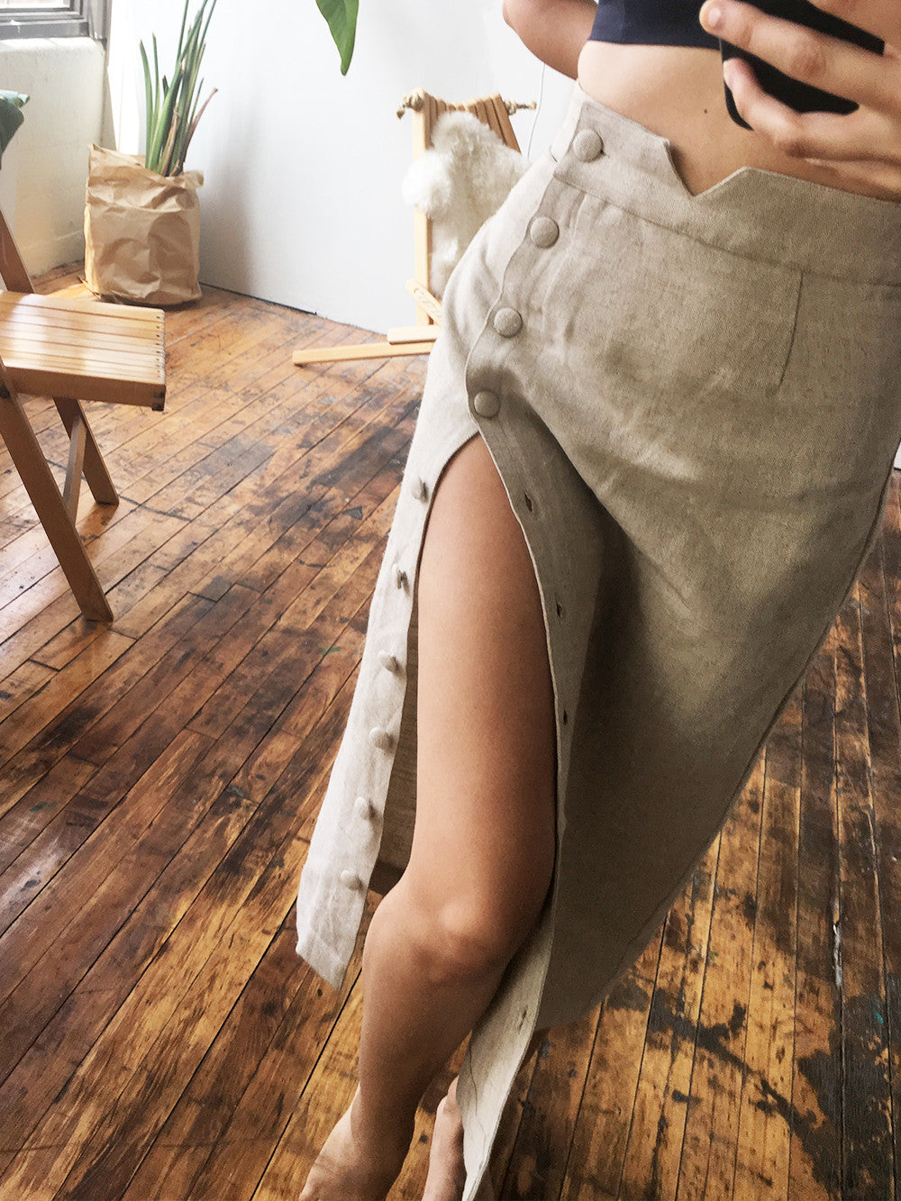Transitional Skirt | Brown Sugar