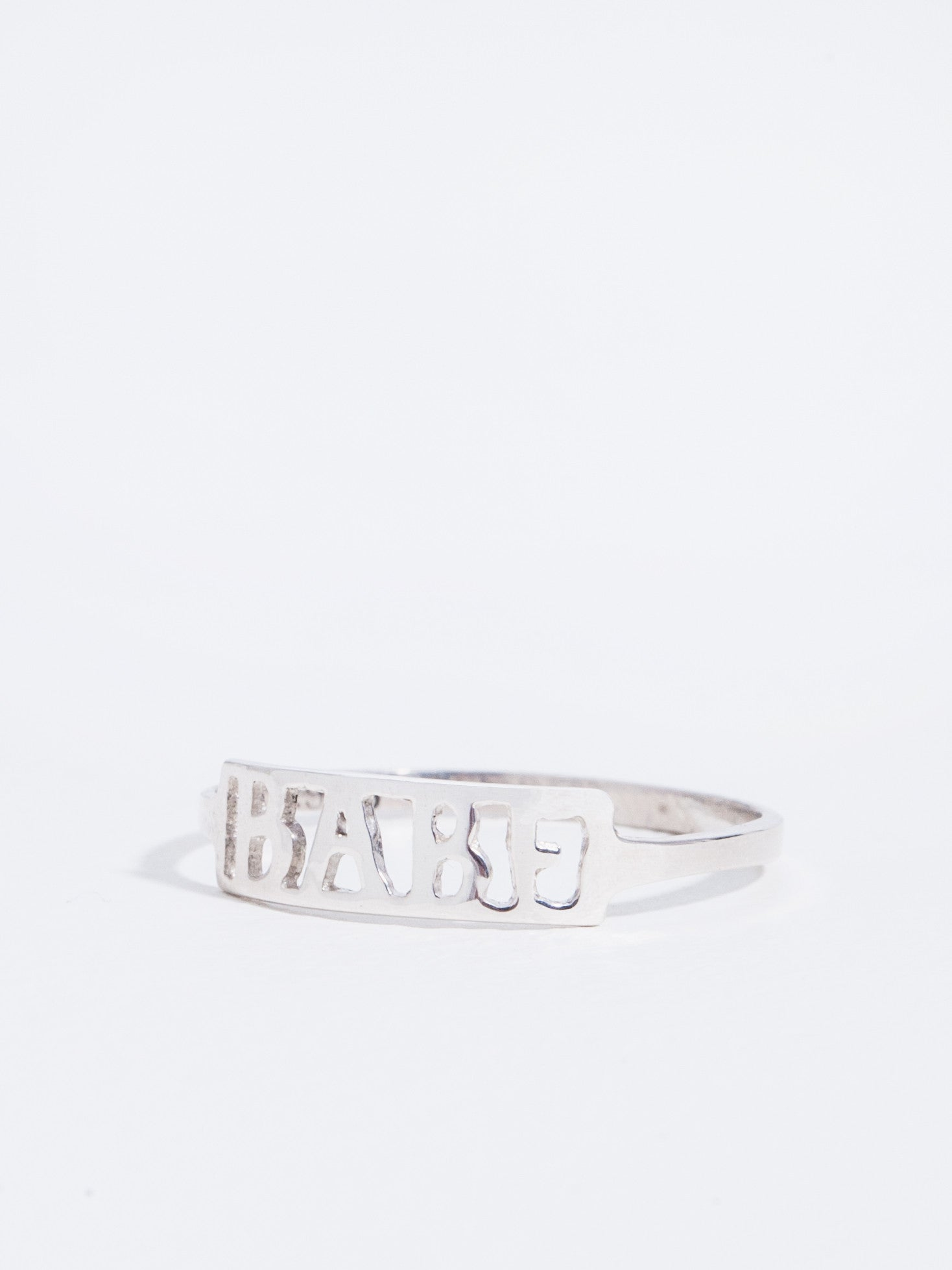 Winden Babe Ring Sterling Silver