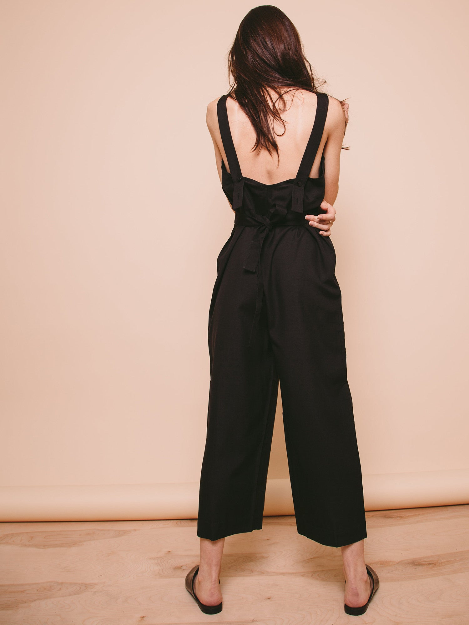 Wray-Margritte-Jumpsuit-Black-Back