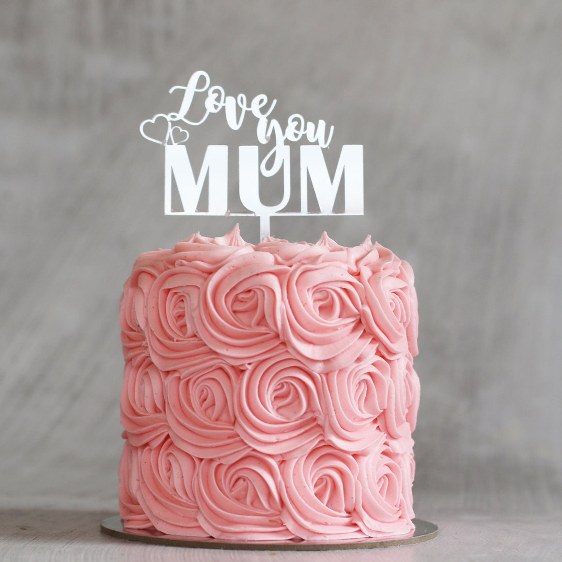 Mother's Day 'Love You Mum' Cake Special Occasion The Cupcake Queens