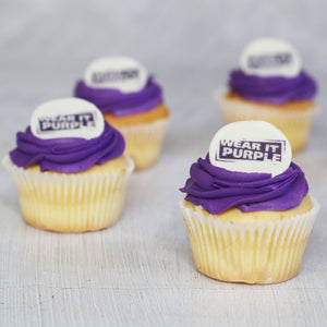 Wear it Purple Cupcake Box