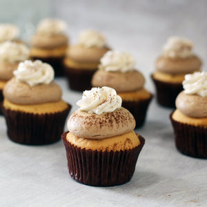 The Cappuccino | August Flavour of Month Cupcakes The Cupcake Queens