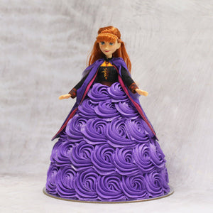 Anna Frozen 2 Doll Cake Special Occasion The Cupcake Queens