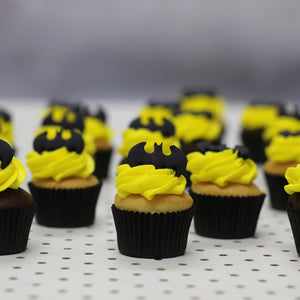 Batman Mini Gift Box Cupcakes The Cupcake Queens