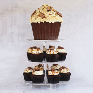 Choc Caramel Cupcake | March Flavour of Month Cupcakes The Cupcake Queens