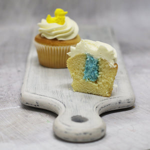 Baby Boy Gender Reveal Cupcakes Cupcakes The Cupcake Queens