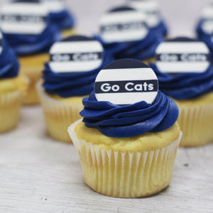 Go Cats - Football Cupcakes